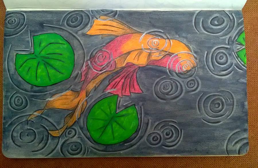 Fish Doodle by suraZcat