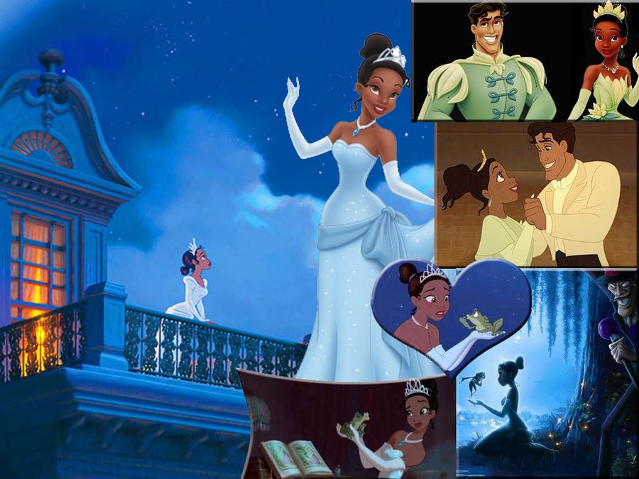 Princess Tiana Desktop by Magegirl-Nino