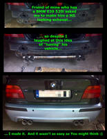 BMW M5 looking exhaust by Kalasznikow47