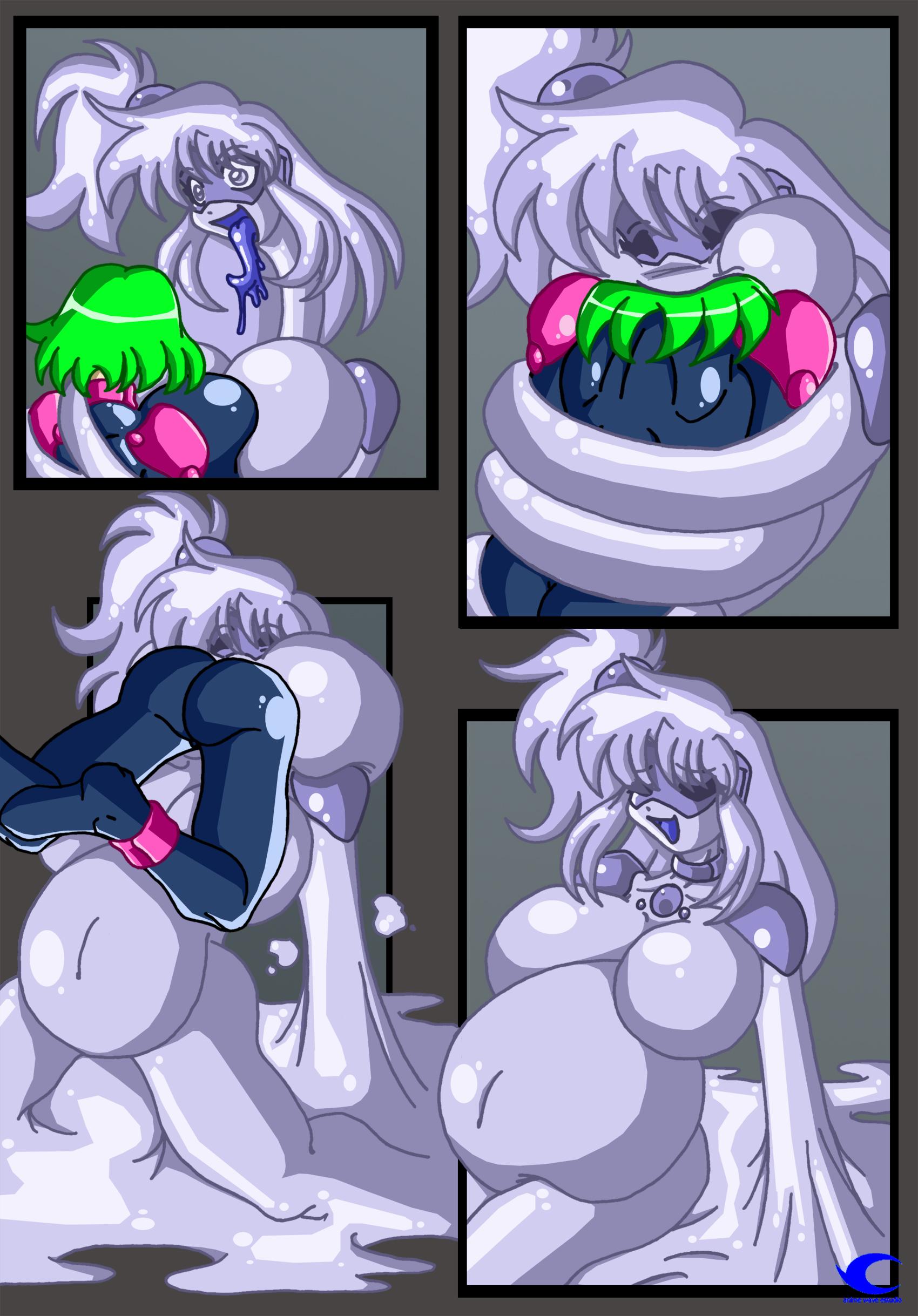 Sexy Slime Girl