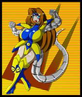 Metal Fighter Ana Carolina by Animewave-Neo