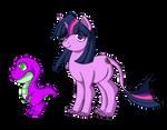 Twilight and Spike in Eocene period