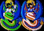 Tena's colour variations