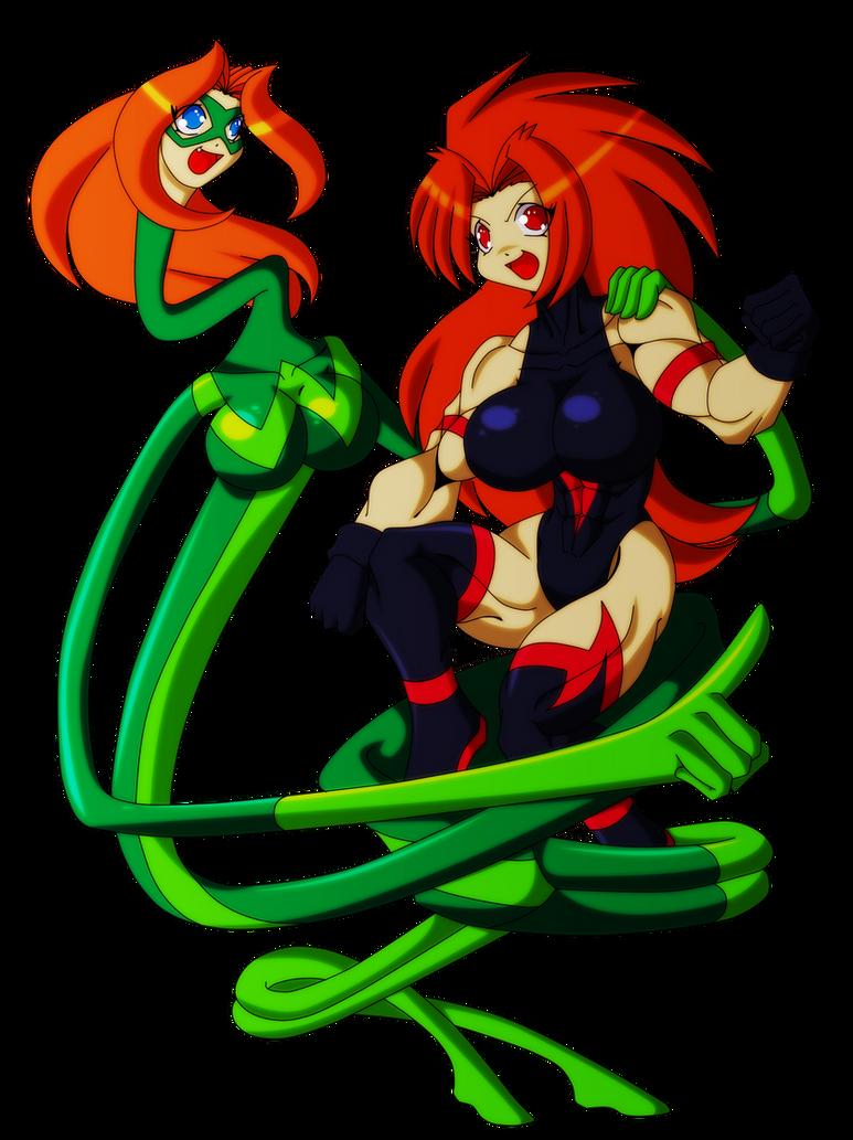 Wonderlastic and Atalanta by Animewave-Neo