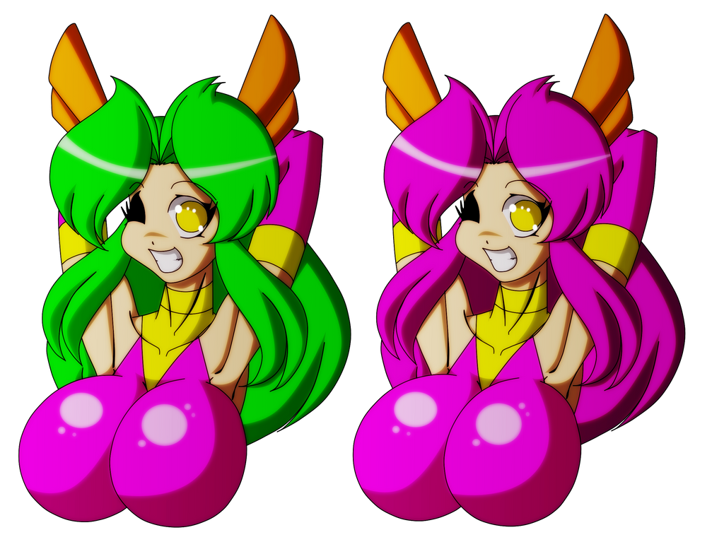 Keitie's colour variations by Animewave-Neo