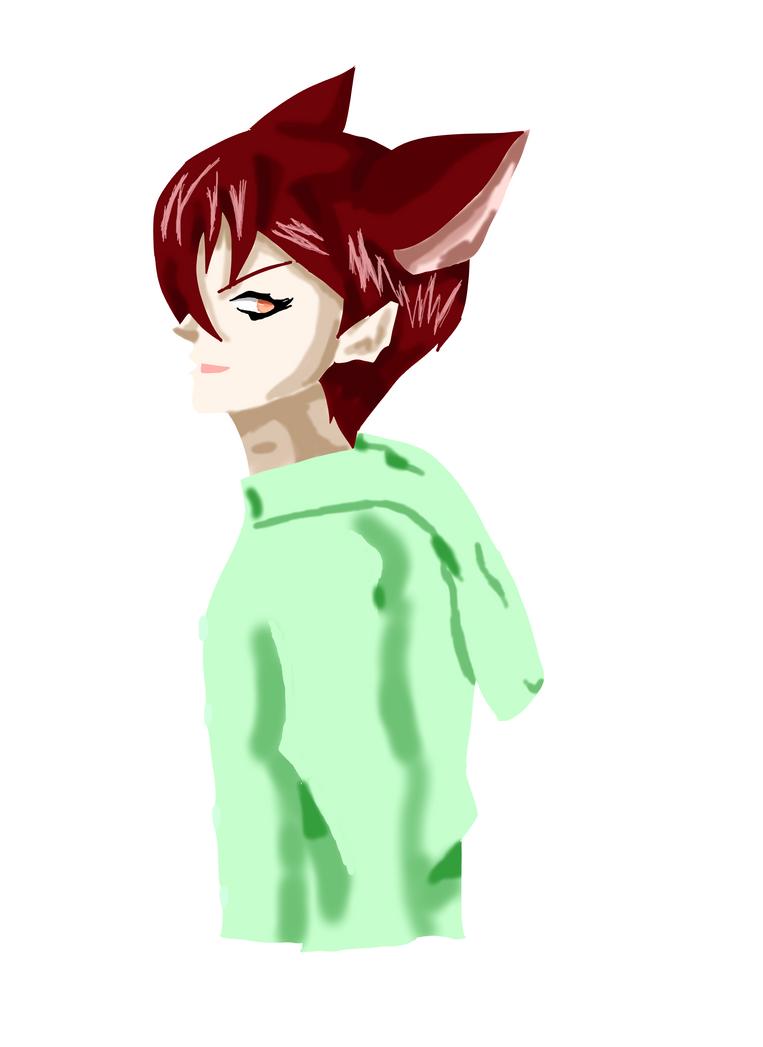 Yet another Loveless character XD - Lovelesss OC by Ui-Azuma