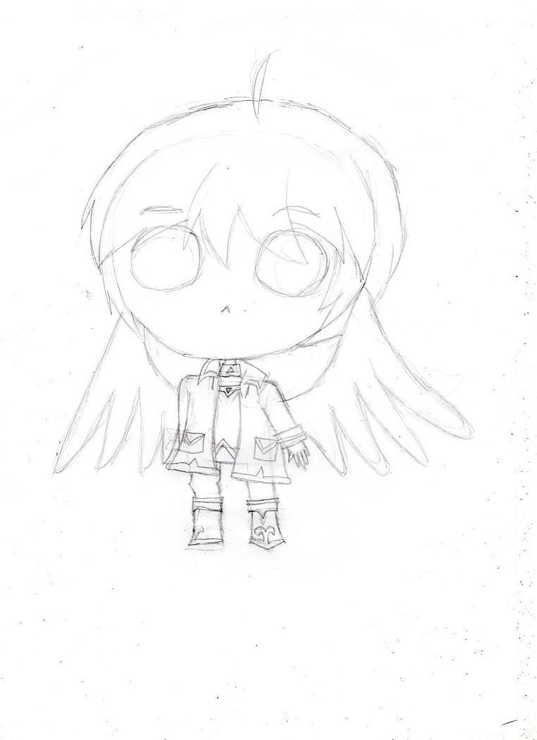 A cute Angel by Ui-Azuma
