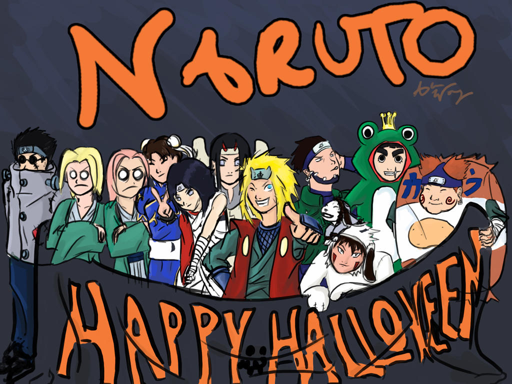 Fantastic Wallpaper Naruto Halloween - naruto_ghetto_halloween_by_aylw  Pictures_905960.jpg