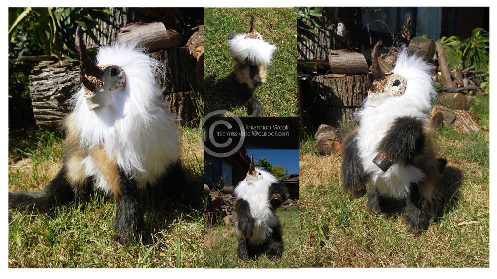 OOAK Creature -Handcrafted- Rhiannon Woolf by RhiannonWoolf