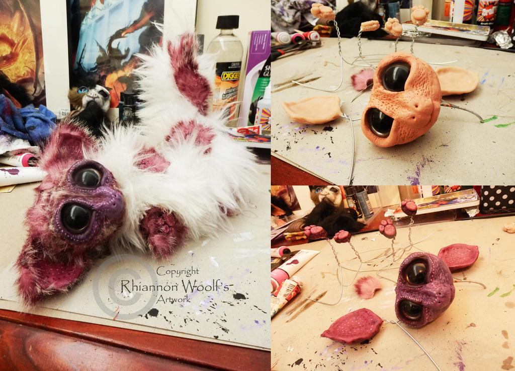 Pink Ringtail Possum! by RhiannonWoolf