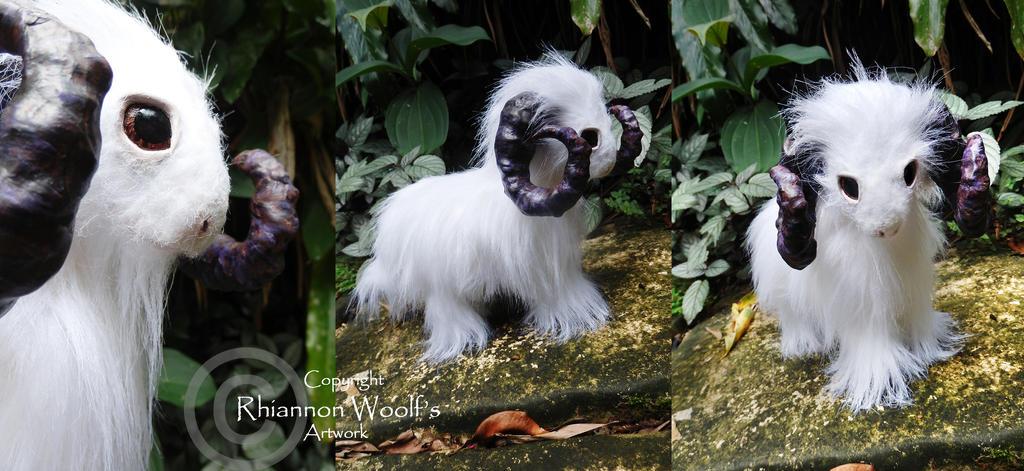 Spirit Ram -Handcrafted- Rhiannon Woolf by RhiannonWoolf