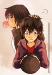 Hiro and Go Go