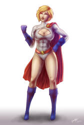 Power Girl by CallaG
