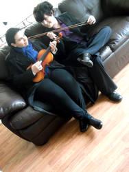 Tied By Violin Strings