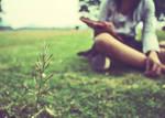 Grass Lullaby by mijnnaamis