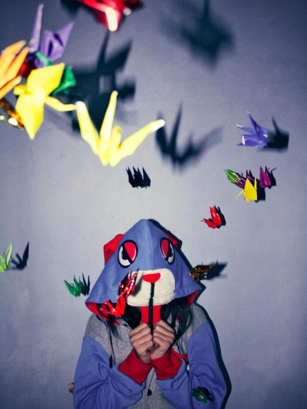1000 Origami by mijnnaamis