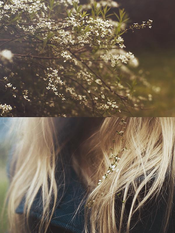 flowers in her hair by aimeelikestotakepics