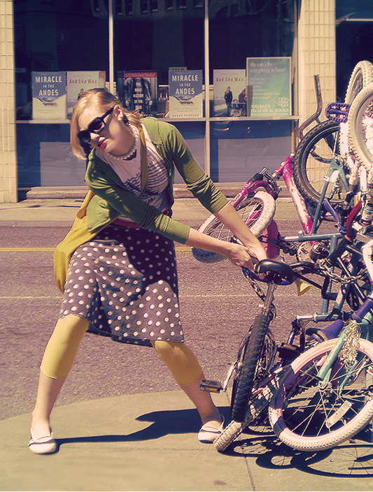 Stealing Bikes by aimeelikestotakepics