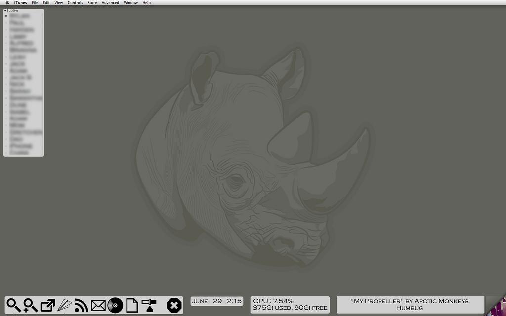 Rhino by mrtomcraig