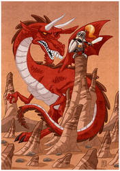 the dragon by kusta