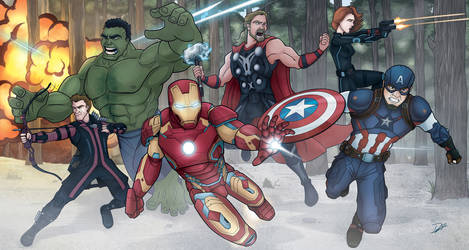 Avengers - Age of Ultron by diegodefreitas