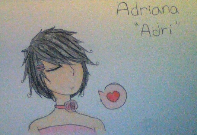 Adri Vargas (again) by LuckyJiku