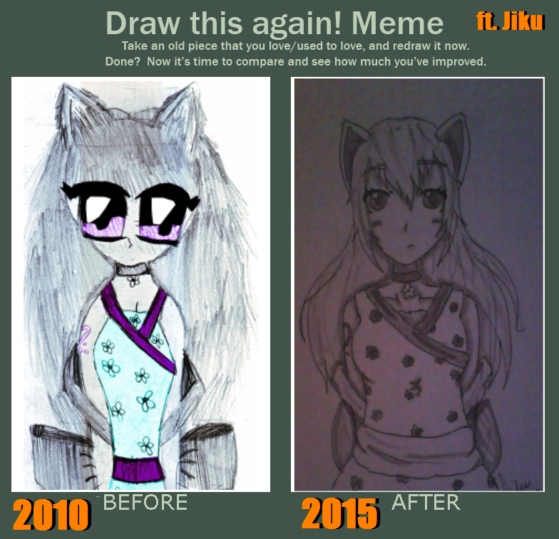 Draw this again! Meme (ft. Jiku) by LuckyJiku