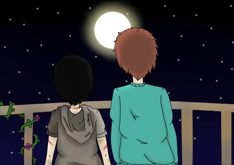Ben and Ravyn [Tomorrow Code] by LuckyJiku