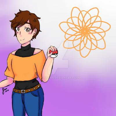 Pokemon Trainer Jiku by LuckyJiku