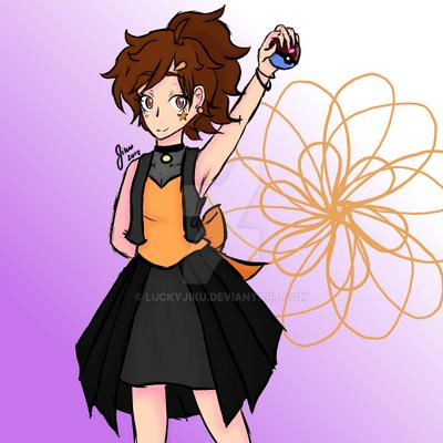 Pokemon Coordinator Jiku by LuckyJiku