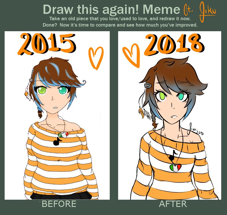 Draw This Again Meme (Again) ft. Jiku by LuckyJiku