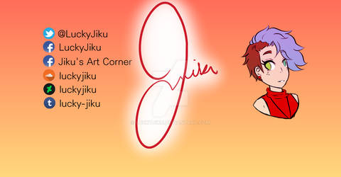 Twitch and YouTube Banner (LuckyJiku)