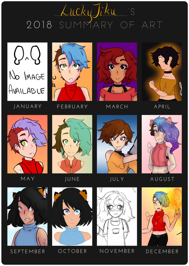 2018 Summary of Art by LuckyJiku