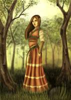 Eina of Dalmar by ArtbyBernhardina
