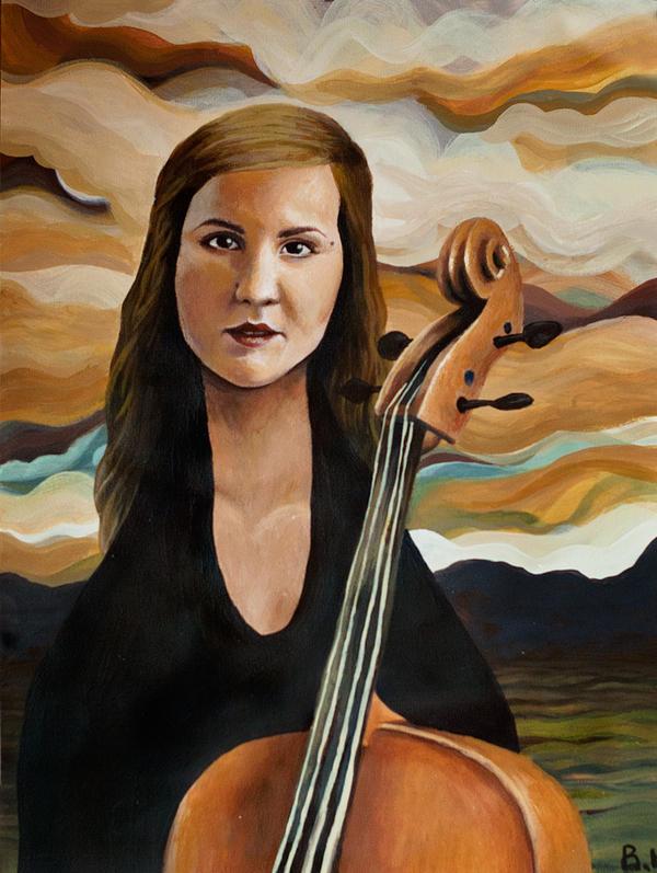 Adriana by ArtbyBernhardina