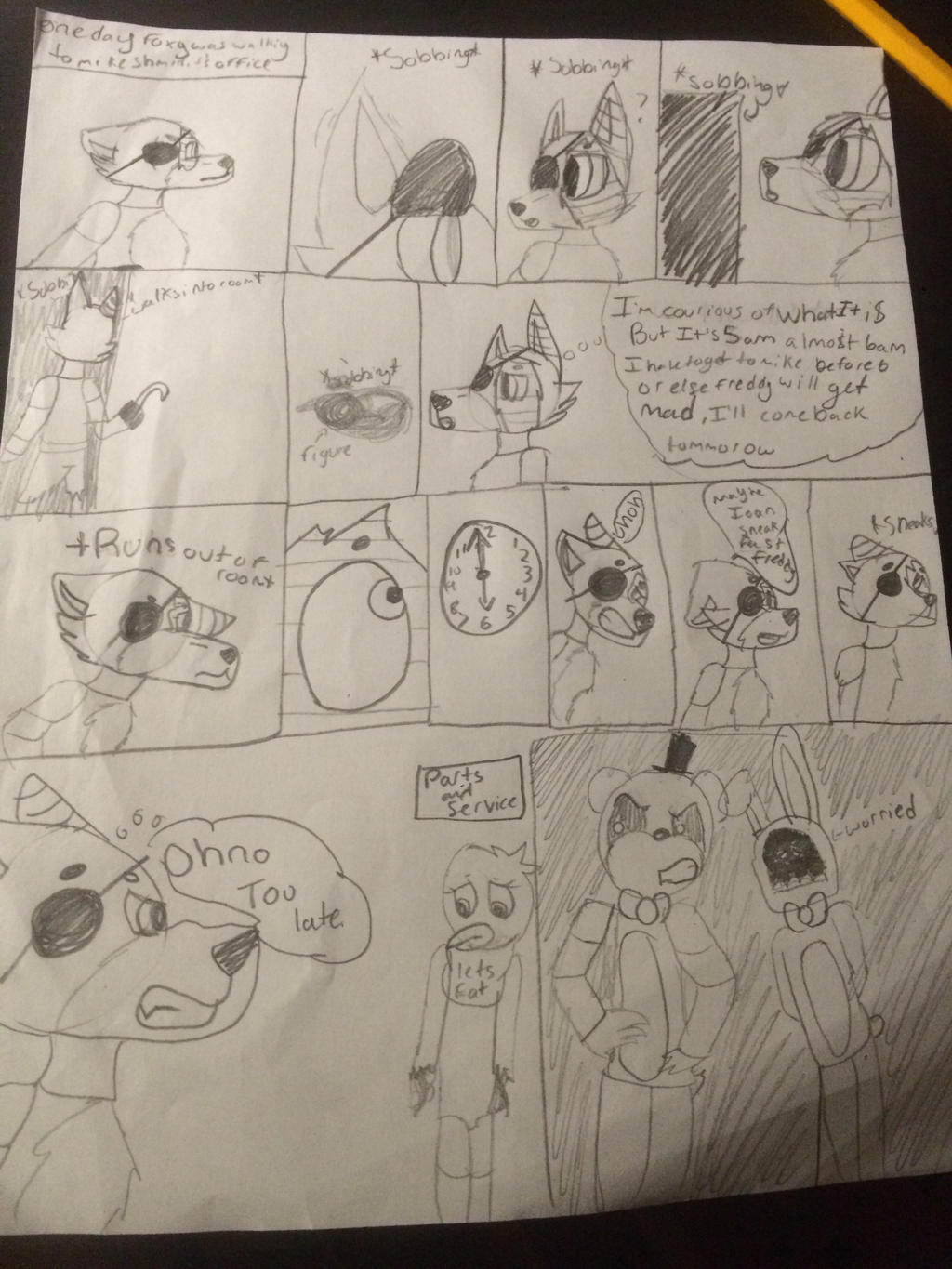 Mangle x foxy fanfiction pg 2 by ashleyt09 on deviantart