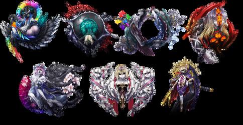 Touhou Seven deadly sins