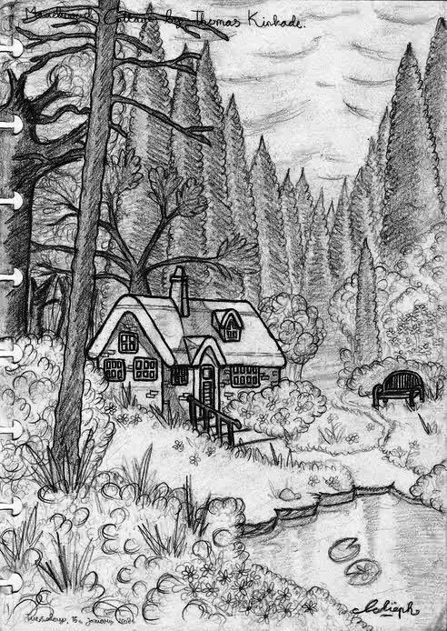 Thomas Kinkade Painting by LippyBua23