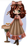 Annabelle The Cafe Visitor By Yampuff - Color