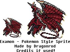 Examon - Pokemon Style Sprite