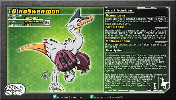 Fake Digimon -  DinoSwanmon