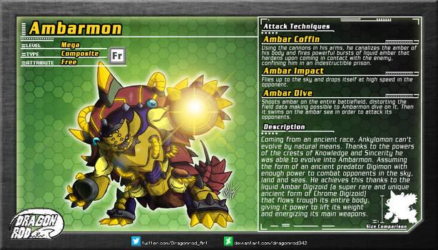 Fake Digimon - Ambarmon