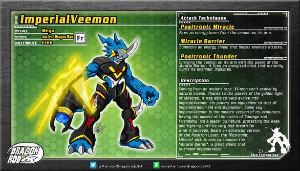 Fake Digimon - ImperialVeemon