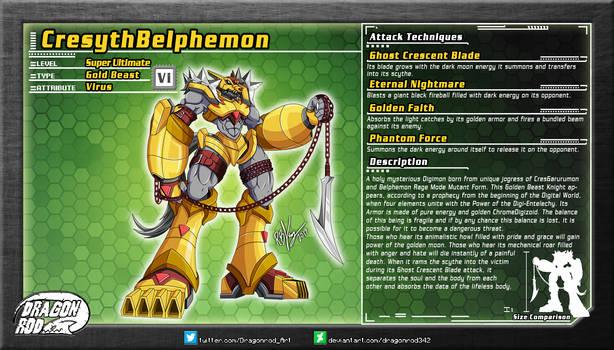 Fake Digimon - CresythBelphemon