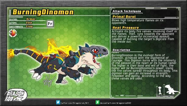 Fake Digimon - BurningDinomon