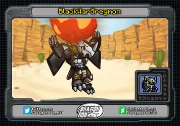 BlackWarGreymon - Miniature series