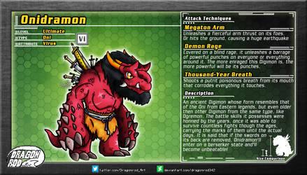 Fake Digimon - Onidramon