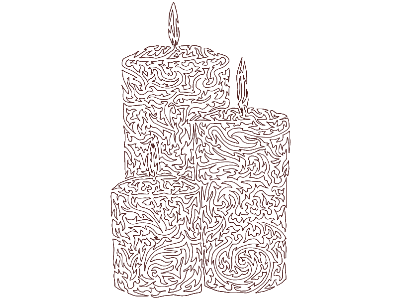 1 Line- Candles by Cheshire-Maddie