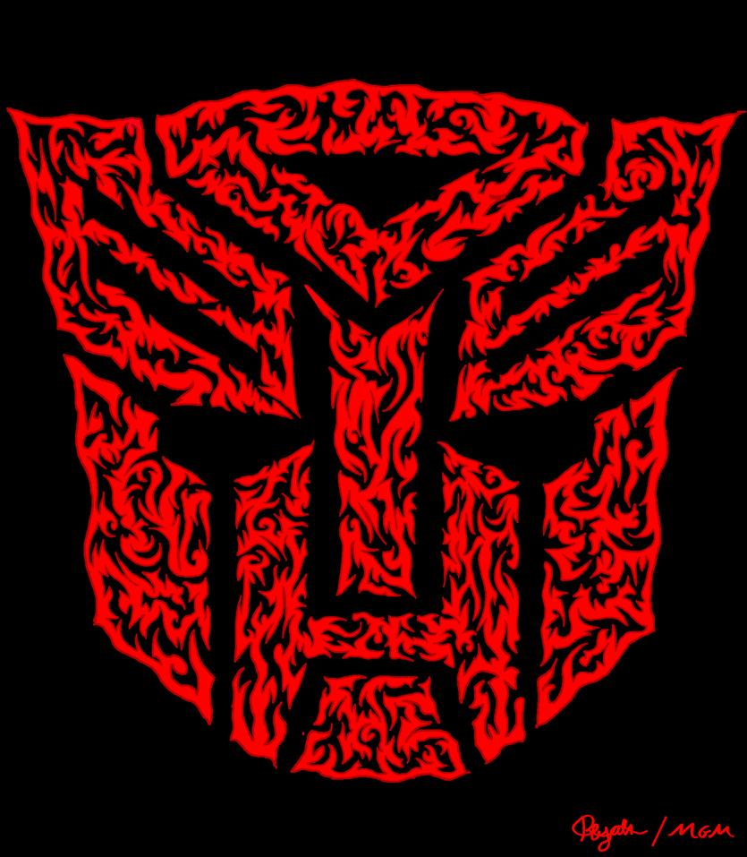 9 line - Autobot symbol by Cheshire-Maddie