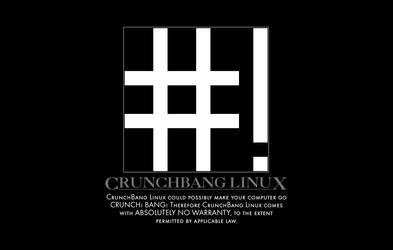 CrunchBang sticker 1 by anonymous-bot